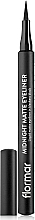 Fragrances, Perfumes, Cosmetics Eyeliner-Pen - Flormar Midnight Matte Eyeliner