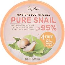 Fragrances, Perfumes, Cosmetics Moisturizing Snail Gel - Esfolio Pure Snail Moisture Soothing Gel 95% Purity