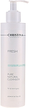 Fragrances, Perfumes, Cosmetics Natural Cleanser for All Skin Types - Christina Fresh Pure & Natural Cleanser