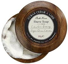 Fragrances, Perfumes, Cosmetics Bath House Cuban Cedar & Lime - Shaving Soap