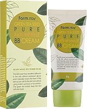 Fragrances, Perfumes, Cosmetics Green Tea Seed BB Cream - FarmStay Green Tea Seed Pure Anti-Wrinkle BB Cream