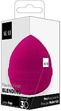 Fragrances, Perfumes, Cosmetics Makeup Sponge, pink - Auri Flawless Finish Blending Sponge 3D