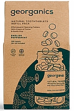 """Fragrances, Perfumes, Cosmetics Tooth Cleansing Tablets """"English Peppermint"""" - Georganics Natural Toothtablets English Peppermint (refill)"""