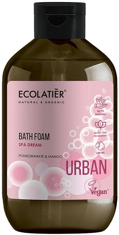 "Bath Foam ""Pomegranate & Mango"" - Ecolatier Urban Bath Foam"