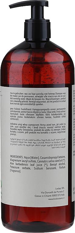 Hemp Seed Oil Shampoo - BioBotanic Silk Wave Hemp Shampoo — photo N3