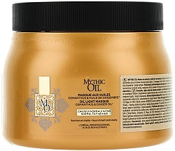 Fragrances, Perfumes, Cosmetics Nourishing Normal & Thin Hair Mask - L'Oreal Professionnel Mythic Oil Mask