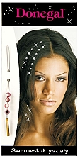 """Fragrances, Perfumes, Cosmetics Hair Ornament """"Pink Crystals"""" 5030/A - Donegal"""