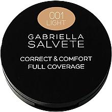 Fragrances, Perfumes, Cosmetics Face Corrector - Gabriella Salvete Correct & Comfort Full Coverage