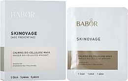 Fragrances, Perfumes, Cosmetics Bio-Cellulose Mask for Sensitive Skin - Babor Skinovage Calming Bio-Cellulose Mask