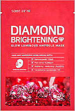 Fragrances, Perfumes, Cosmetics Diamond Dust Brightening Ampoule Mask - Some By Mi Diamond Brightening Calming Glow Luminous Ampoule Mask
