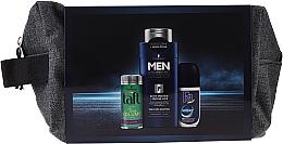 Fragrances, Perfumes, Cosmetics Set - Schwarzkopf Men (h/powder/10ml + shmp/250ml + deo/50ml + bag)