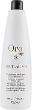 Fragrances, Perfumes, Cosmetics Bio Perm Stabilized Neutralizer - Fanola Oro Therapy Neutralizer