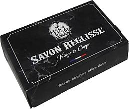 Fragrances, Perfumes, Cosmetics Cleansing Face & Body Soap - Man's Beard Savon Surgras Reglisse
