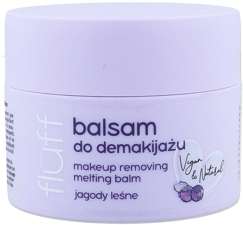 Makeup Remover - Fluff Makeup Remover Balm Wild Blueberries
