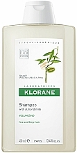 Fragrances, Perfumes, Cosmetics Volume Almond Shampoo for Fine Hair - Klorane Volumising Shampoo with Almond Milk