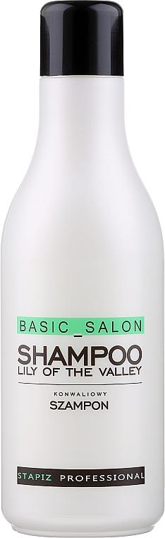 "Hair Shampoo ""Lily of the Valley"" - Stapiz Basic Salon Shampoo Lily Of The Valley"