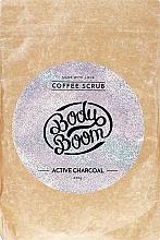 Fragrances, Perfumes, Cosmetics Charcoal Body Scrub - BodyBoom Active Charcoal Coffee Scrub