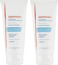 Fragrances, Perfumes, Cosmetics Set - Ducray Anaphase+ (sch/2x200ml)