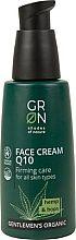 Fragrances, Perfumes, Cosmetics Face Cream - GRN Gentlemen's Organic Q10 Hemp & Hop Face Cream