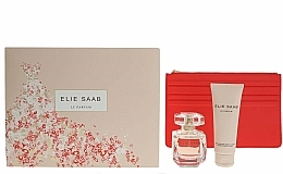 Fragrances, Perfumes, Cosmetics Elie Saab Le Parfum - Set (edp/50ml + b/lot/75ml + bag)