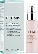 Fragrances, Perfumes, Cosmetics Serum Spray - Elemis Pro-Collagen Rose Hydro-Mist