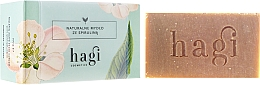 Fragrances, Perfumes, Cosmetics Natural Soap with Lemongrass and Spirulina Extracts - Hagi Soap