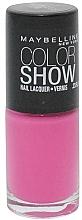 Fragrances, Perfumes, Cosmetics Nail Polish - Maybelline Color Show Nail Lacquer
