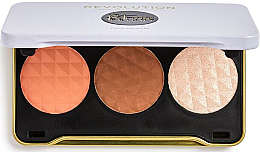 Fragrances, Perfumes, Cosmetics Contour Palette - Makeup Revolution Patricia Bright Face Palette