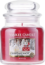 Fragrances, Perfumes, Cosmetics Scented Candle in Jar - Yankee Candle Christmas Magic
