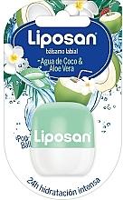 Fragrances, Perfumes, Cosmetics Coconut Water & Aloe Vera Lip Balm - Liposan Pop Ball