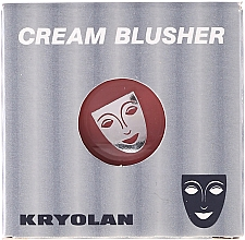 Fragrances, Perfumes, Cosmetics Creamy Blush - Kryolan Cream Blusher