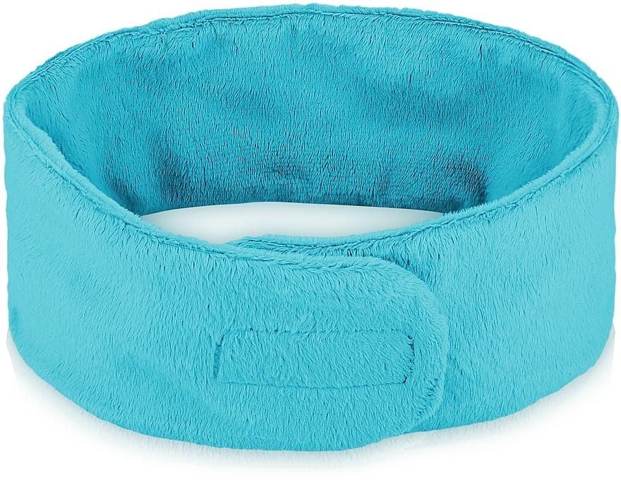 Cosmetic Headband, turquoise - MakeUp