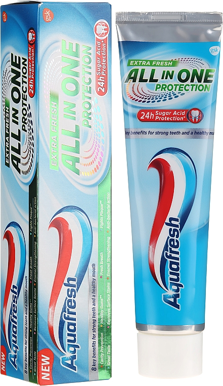 Toothpaste - Aquafresh All In One Protection Extra Fresh