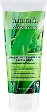 Fragrances, Perfumes, Cosmetics Exfoliating Cleansing Gel - Naturalia Aloe Vera Exfoliating Cleanser Gel Face & Body