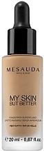 Fragrances, Perfumes, Cosmetics Bare Skin Effect Foundation Fluid - Mesauda Milano My Skin But Better