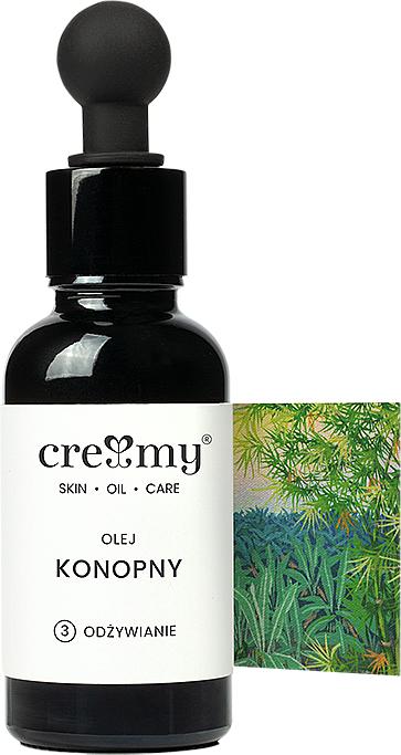 Unrefined Hemp Oil - Creamy