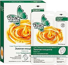 Fragrances, Perfumes, Cosmetics 2-Step Golden Placenta Eye Mask - Dizao