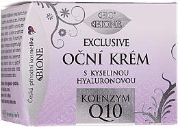 Fragrances, Perfumes, Cosmetics Eye Cream - Bione Cosmetics Exclusive Organic Eye Cream With Q10