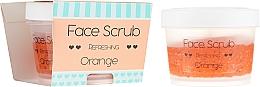 "Fragrances, Perfumes, Cosmetics Face and Lip Scrub ""Orange"" - Nacomi Refreshing Face Orange"