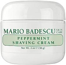 Fragrances, Perfumes, Cosmetics Peppermint Shaving Cream - Mario Badescu Peppermint Shaving Cream