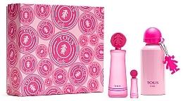 Fragrances, Perfumes, Cosmetics Tous Kids Girl - Set (edt/100ml + edt/mini/4ml + bottle)
