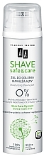 Fragrances, Perfumes, Cosmetics Shaving Gel - AA Shave Safe&Care