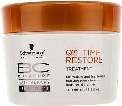 Fragrances, Perfumes, Cosmetics Hair Mask Q10 - Schwarzkopf Professional BC Bonacure Time Restore Q10 Plus Treatment
