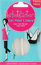 Fragrances, Perfumes, Cosmetics Gel Heel Liners - The Foot Factory Gel Heel Liner Twin Pack