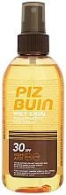Fragrances, Perfumes, Cosmetics Sunscreen Body Spray - Piz Buin Wet Skin Transparent Sun Spray SPF30
