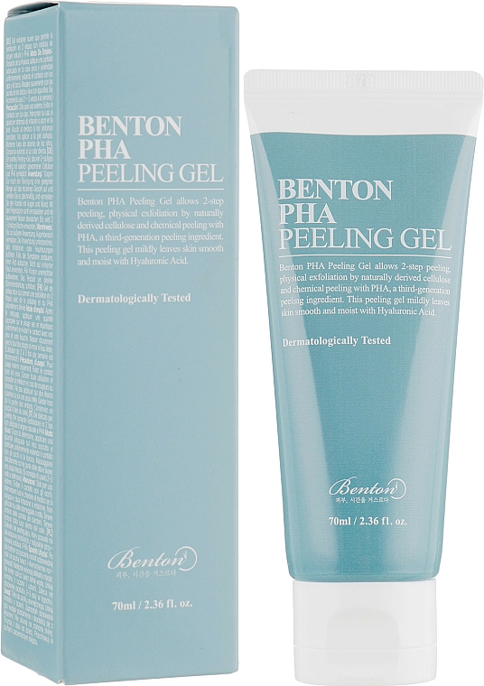 Lactobionic Acid Peeling Gel - Benton PHA Peeling Gel