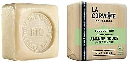 "Fragrances, Perfumes, Cosmetics Organic Soap ""Sweet Almond"" - La Corvette Sweet Almond Soap"