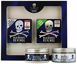 Fragrances, Perfumes, Cosmetics Set - The Bluebeards Revenge (balm/100ml+cr/100ml)