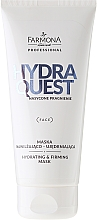 Fragrances, Perfumes, Cosmetics Hyaluronic Acid Moisturizing Face Mask - Farmona Hydro Quest Hydrating And Firming Mask