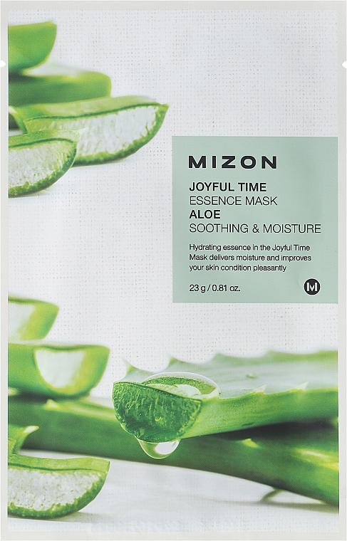 Aloe Vera Face Sheet Mask - Mizon Joyful Time Essence Mask Aloe